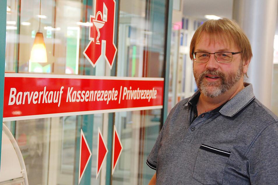 Helmut Michael legt großen Wert auf die Kompetenz seiner Mitarbeiter.