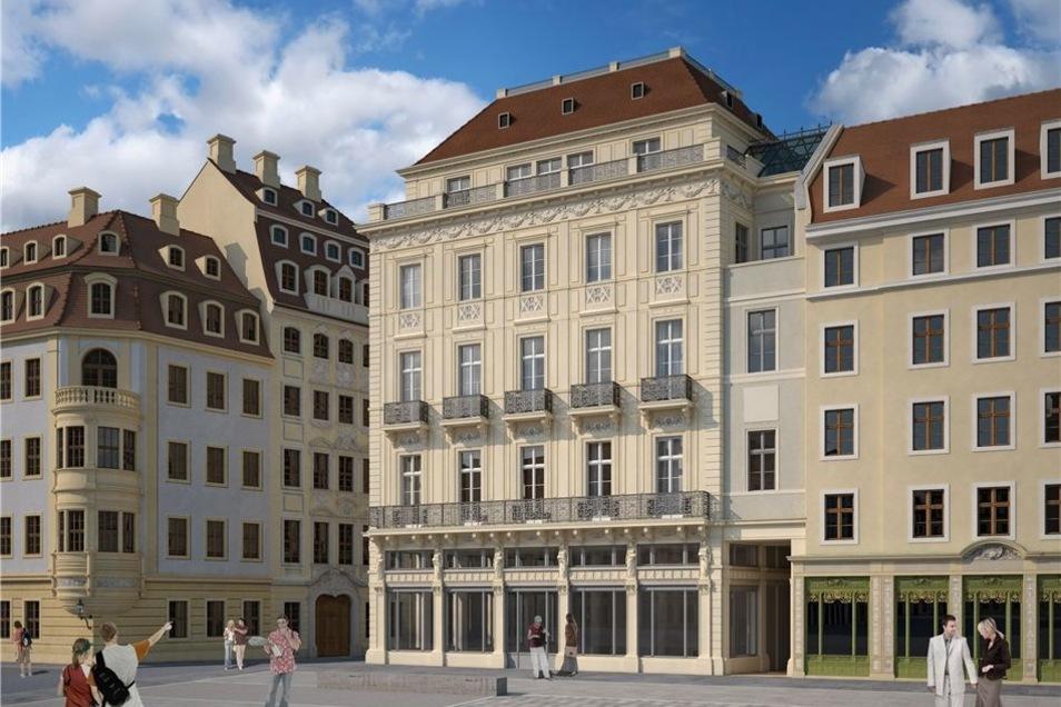 So soll das Neumarkt-Kaufhaus einmal aussehen.