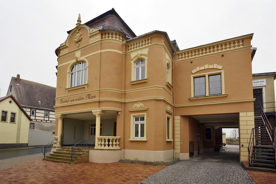 """Der """"Wilde Mann"""" in Ostrau."""