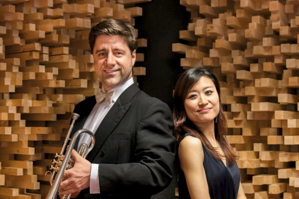 Helmut Fuchs, Solotrompeter der Sächsischen Staatskapelle Dresden, und die Pianistin Lilly Zhang-Sowa aus Salzburg interpretieren Oskar Böhmes Werke.