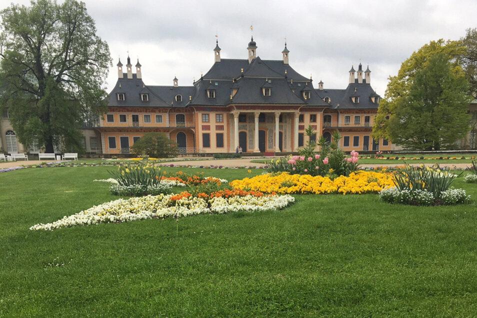 Im Wasserpalais Pillnitz ist heute Kunsthandwerk aus dem 17. und 18. Jahrhundert ausgestellt.