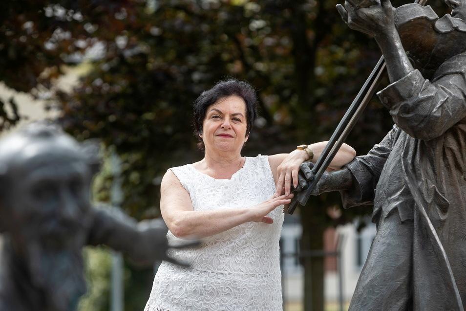 """Unternehmerin und Querdenken-Rednerin Helga Queck. """"Die Schlinge um den Hals vieler Politiker zieht sich zu."""""""
