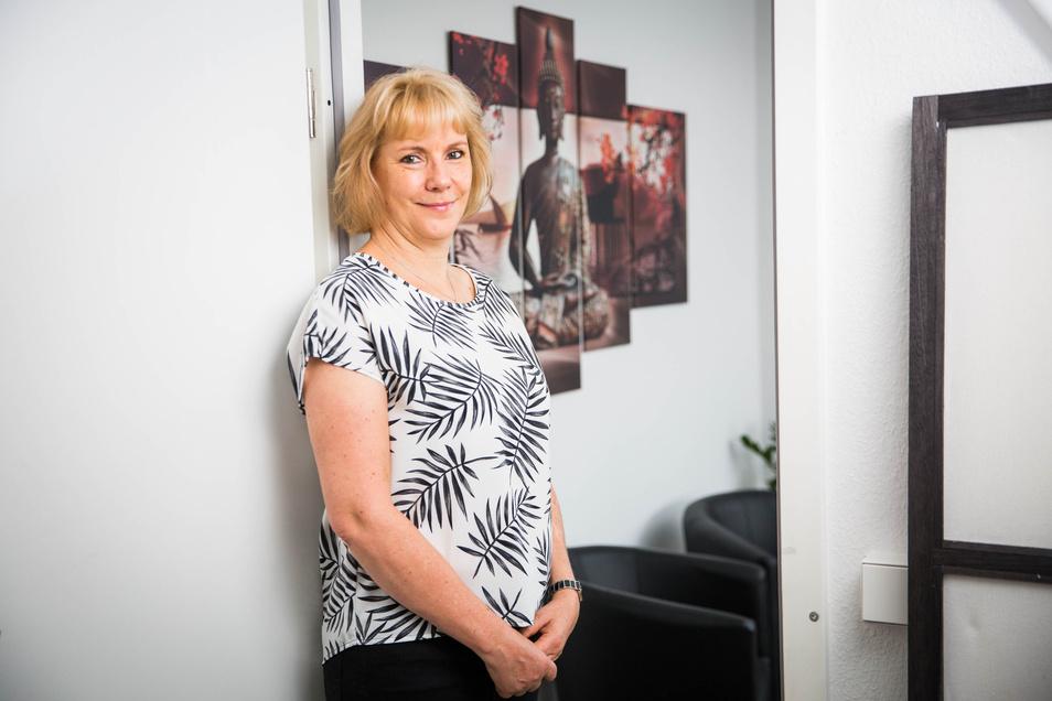 Kathrin Nake rettet beruflich Beziehungen und hat es in Corona-Zeiten mit besonders gestressten Klienten zu tun.
