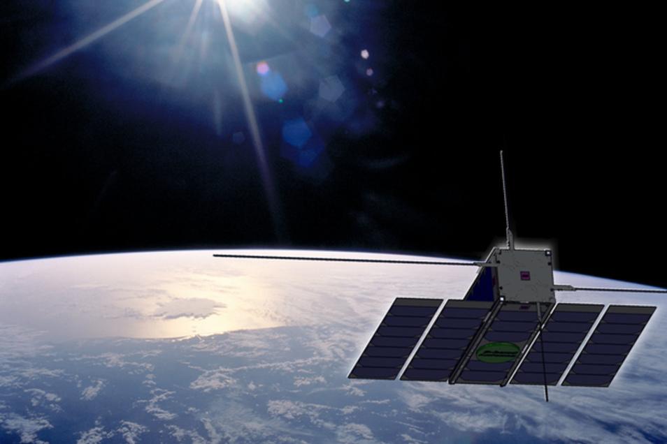 Die europäische Raumfahrt Agentur Esa wird in wenigen Wochen mit einer Sojus diesen Ops-Sat starten. Mit an Bord  ist dann auch ein Experiment aus Dresden. Es könnte für die künftige  Daten-Kommunikation grundlegende Folgen haben.