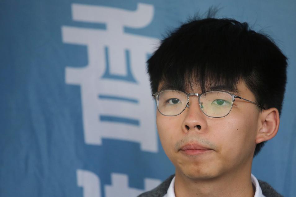 Der Hongkonger Aktivist Joshua Wong wurde vorzeitig aus der Haft entlassen.