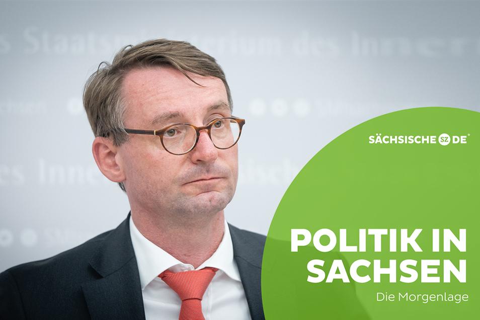 Innenminister Roland Wöller