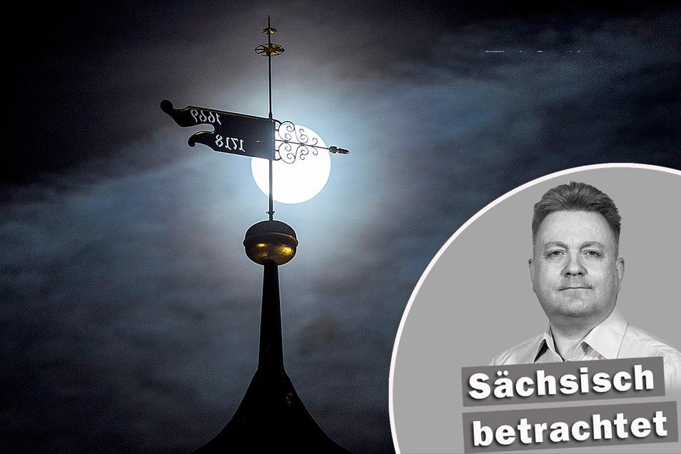 Der Mond weist allen den Weg: In Sachsen ist das mittlerweile Realität.
