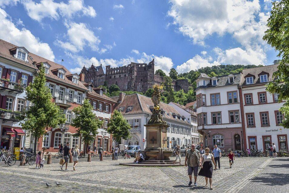 Die Heidelberger Altstadt.