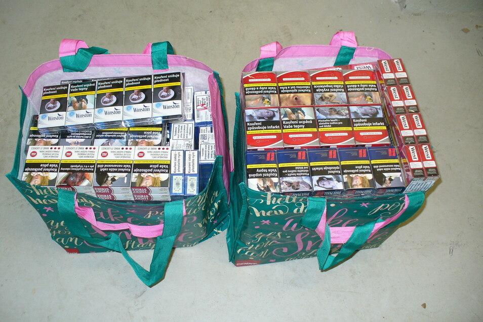 Die wollte er in zwei Tüten verpackt in Löbau weiter verkaufen.