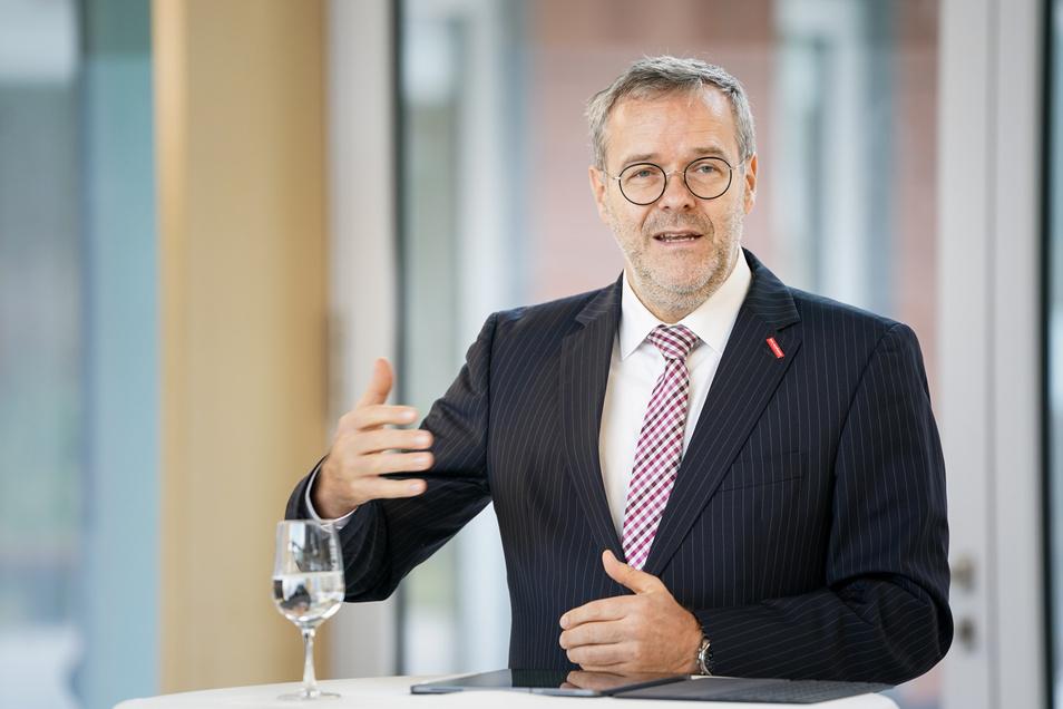 Jörg Dittrich, Präsident der Handwerkskammer Dresden