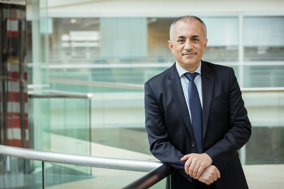 Müslüm Yakisan leitet die neu geschaffene Region Deutschland, Österreich, Schweiz innerhalb des Alstom-Konzerns. Er ist damit auch für die Werke in Bautzen und Görlitz zuständig.
