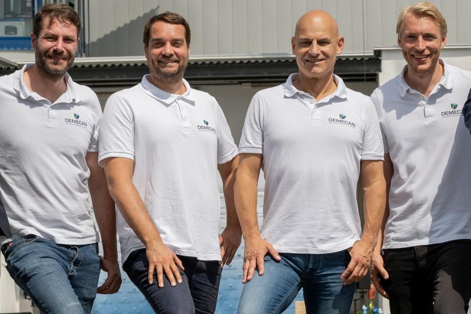 Jetzt gibt es vier Geschäftsführer bei Demecan in Naunhof.