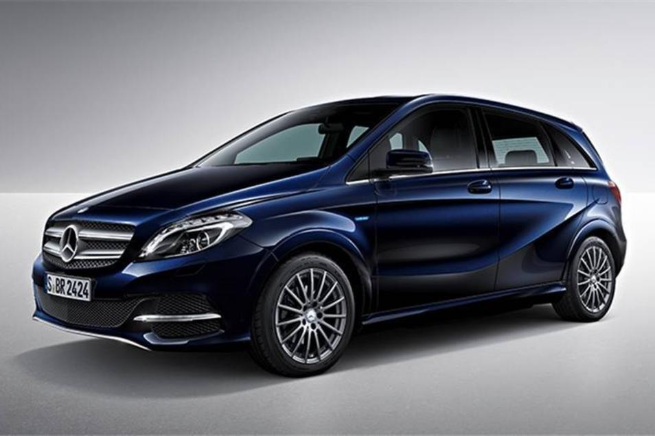 Die Marke Mercedes-Benz ist ebenfalls mit 25 Zulassungen dabei. Meist handelt es sich um Fahrzeuge der B-Klasse.