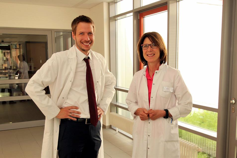 Dr. Jakob Dobroschke, Dr. Judith Stiebitz: Nahtlos an den Erfahrungsschatz der Vorgängerin anknüpfen.