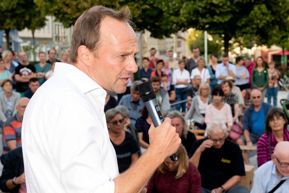 Wolfram Günther ist Spitzenkandidat der Grünen zur Landtagswahl in Sachsen.