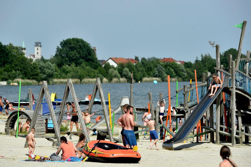 Der Olbersdorfer See und der Zittauer Westpark sollen künftig gemeinsam von Olbersdorf und Zittau entwickelt werden.