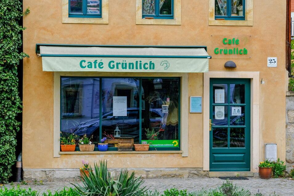 Im Café Grünlich hat das DRK an den Wochenenden ein Testzentrum betrieben.