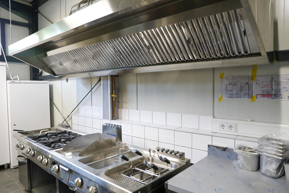 Die Küche ist bereits ausgestattet.