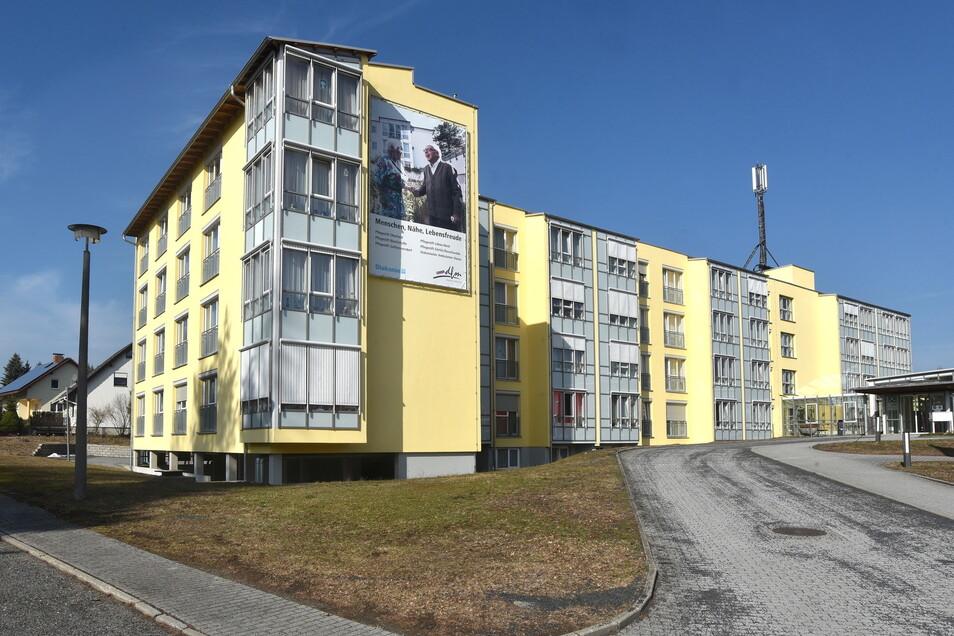 Das Pflegestift Oberland am Hofeweg in Ebersbach.