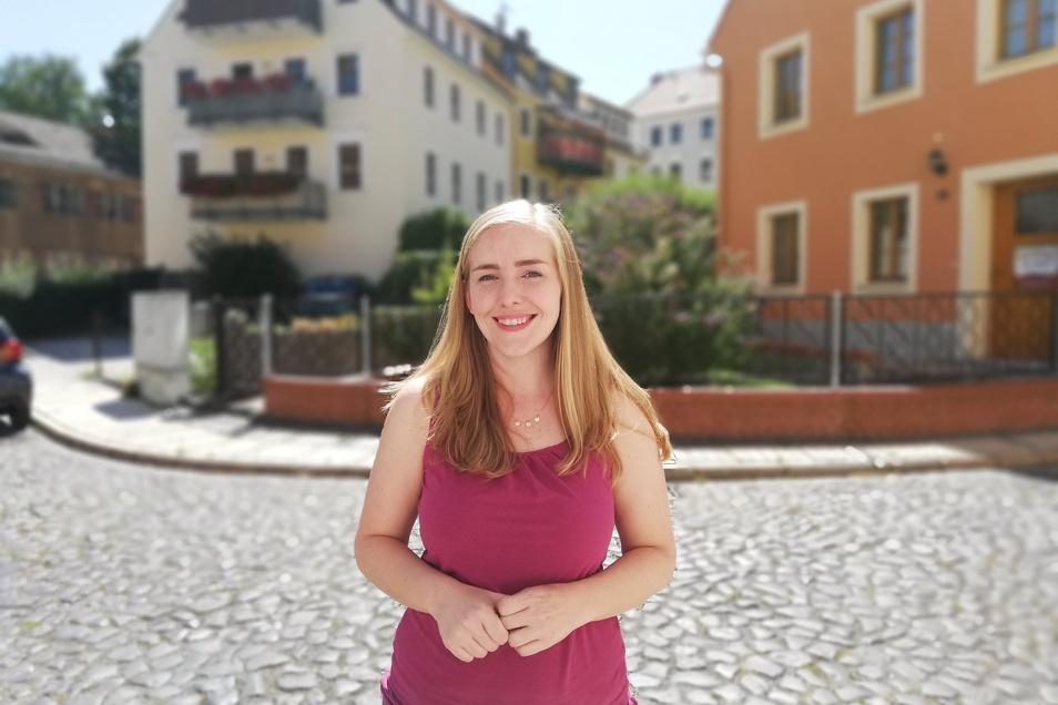 Tessa Enright in der Görlitzer Südstadt.