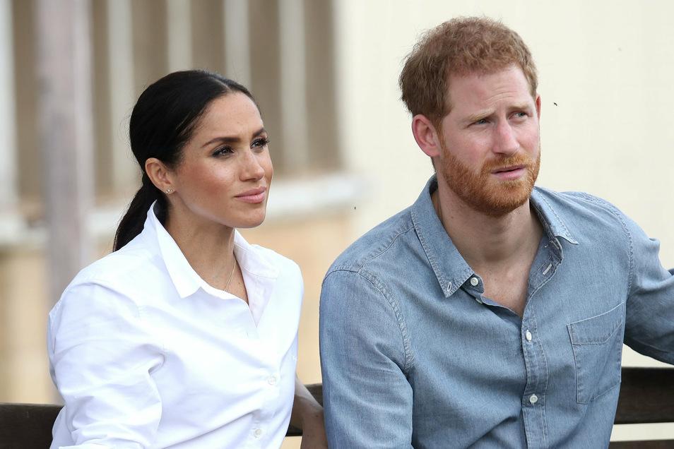 Harry und Meghan haben sich Ende März vom Königshaus losgelöst und leben jetzt in den USA.