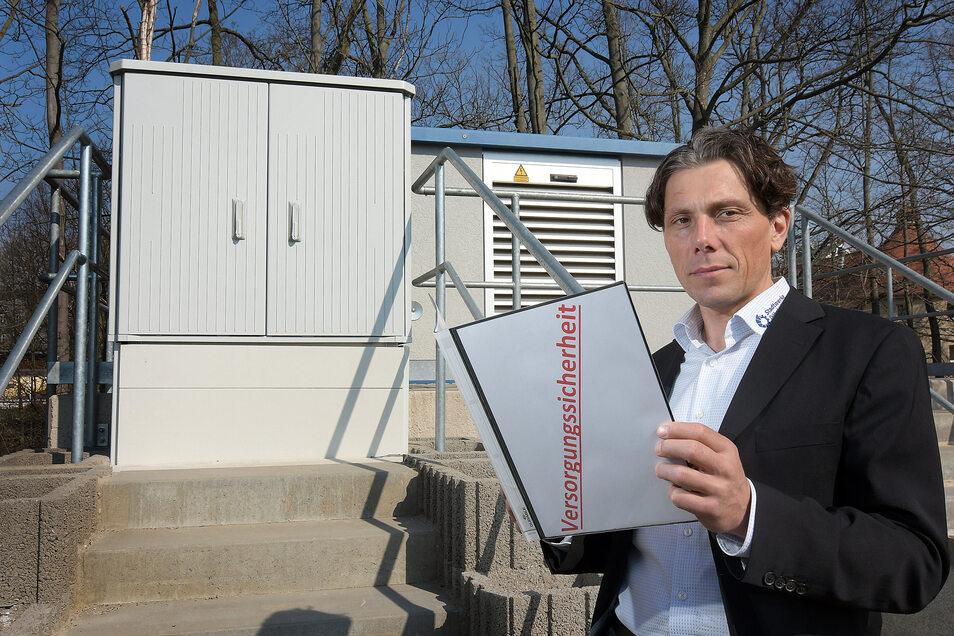In der Krise hat Stadtwerke-Chef Gunnar Fehnle sein Team geteilt. Damit ist immer eine Mannschaft vor Ort, um den Betrieb zu sichern.