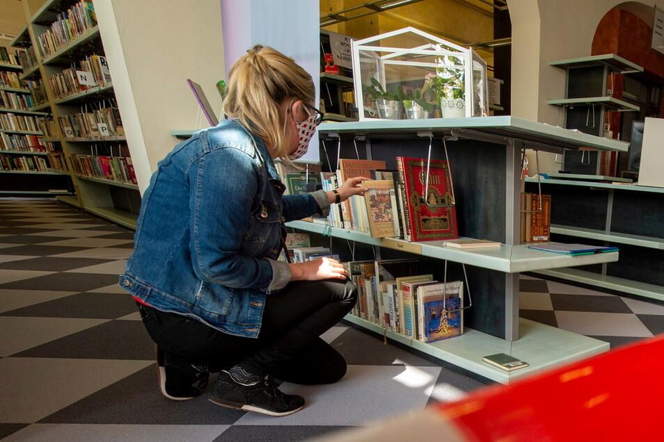 """Die Radebeuler Stadtbibliothek beteiligt sich erstmals an der Aktion """"Buchsommer Sachsen"""". Ab 12. Juli können sich Schüler ab der fünften Klasse Lesestoff für die Ferienzeit holen. Die Teilnahme ist kostenfrei."""