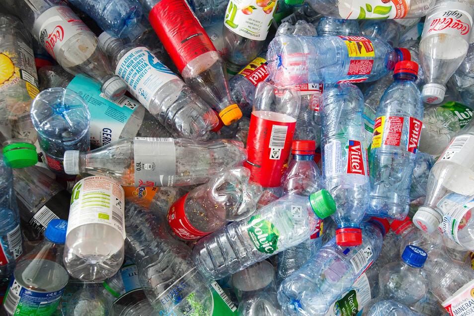 Plastik über Plastik.