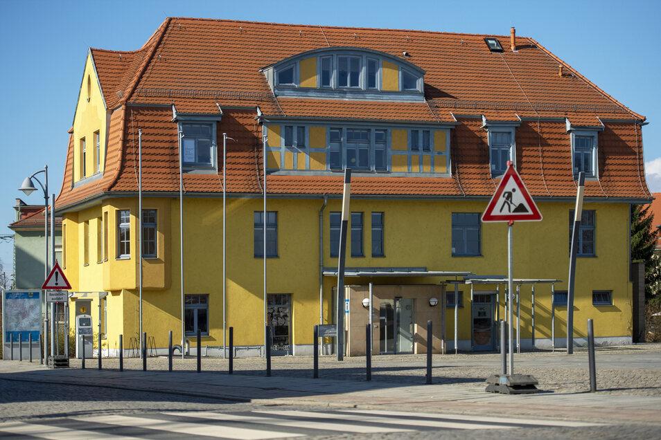 Raum zu vermieten: Das Heidenauer Stadthaus am Markt.
