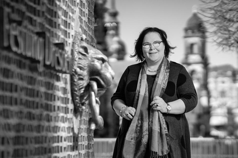 Sylvia Jämlich, 54, leitet seit 26 Jahren ihre eigene Firma. Die Mutter von vier Kindern übernahm den Malerbetrieb im erzgebirgischen Gornau von ihrem Schwiegervater.