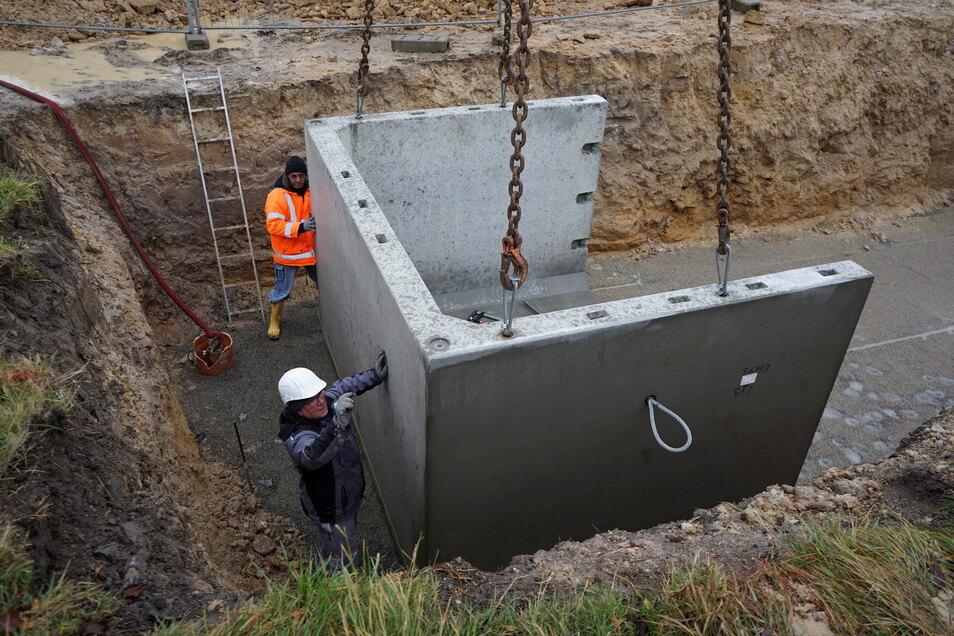 Hier wurde die neue Zisterne in Paulshain gebaut.. Dieses Programm für eine bessere Löschwasserversorgung in der Gemeinde Klingenberg geht weiter. Dieses Jahr ist Röthenbach an der Reihe.