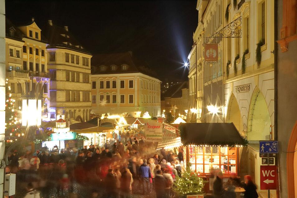 Der Christkindelmarkt in der Görlitzer Altstadt findet in diesem Jahr wieder statt. Darauf freuen sich schon viele Menschen.