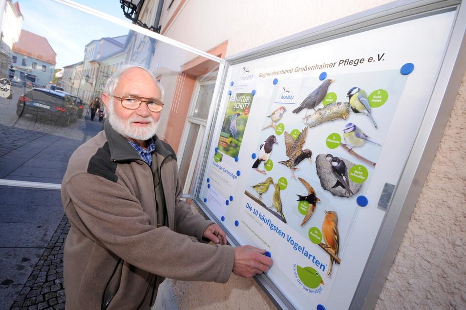 Möchte beim Klimapilgern mitmachen: Horst Köppler, der auch im Nabu aktiv ist.