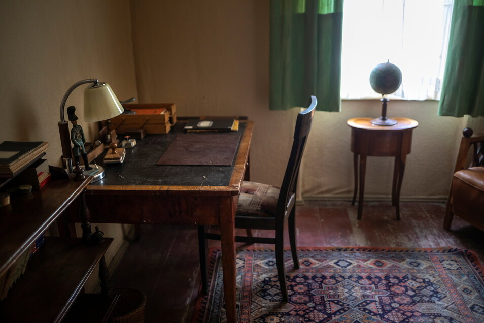 Auch ein Bett stand in diesem Raum, erinnert sich Dorit Kumpe - es ist auf den Fotos nicht zu sehen.