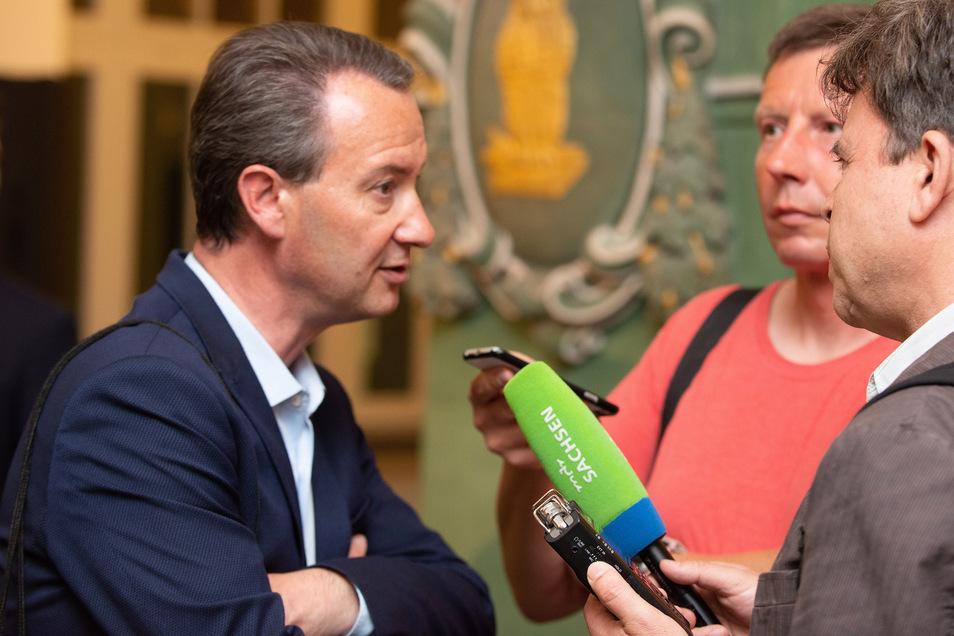 CDU-Fraktionschef Jan Donhauser will nicht mit der AfD kooperieren.
