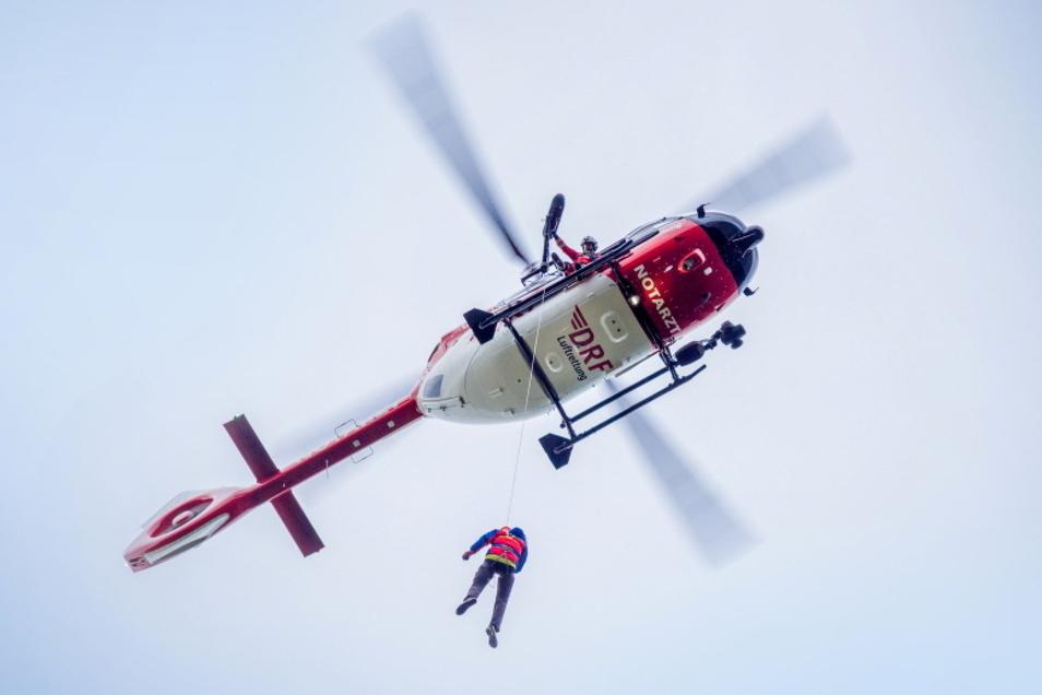 Im Katastrophenfall ist schnelle Hilfe wichtig. Ein neuer Hubschrauber mit Rettungswinde der DRF Luftrettung soll dabei von Bautzen aus helfen.