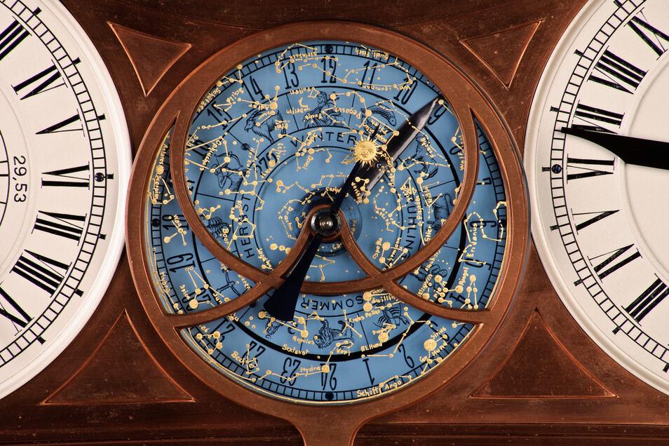 Die Uhr von Hermann Goertz ist nicht nur sehenswert, sondern ein technisches Meisterwerk.