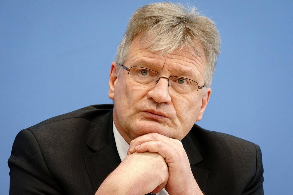 """Sächsische Bundestagsabgeordnete werfen AfD-Chef Jörg Meuthen vor, die Partei nicht """"würdig"""" zu vertreten."""