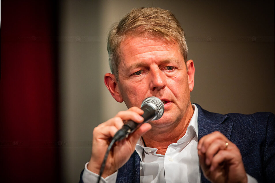 Karsten Hilse ist der Direktkandidat der AfD. Er hatte 2017 das Mandat für den Wahlkreis errungen.