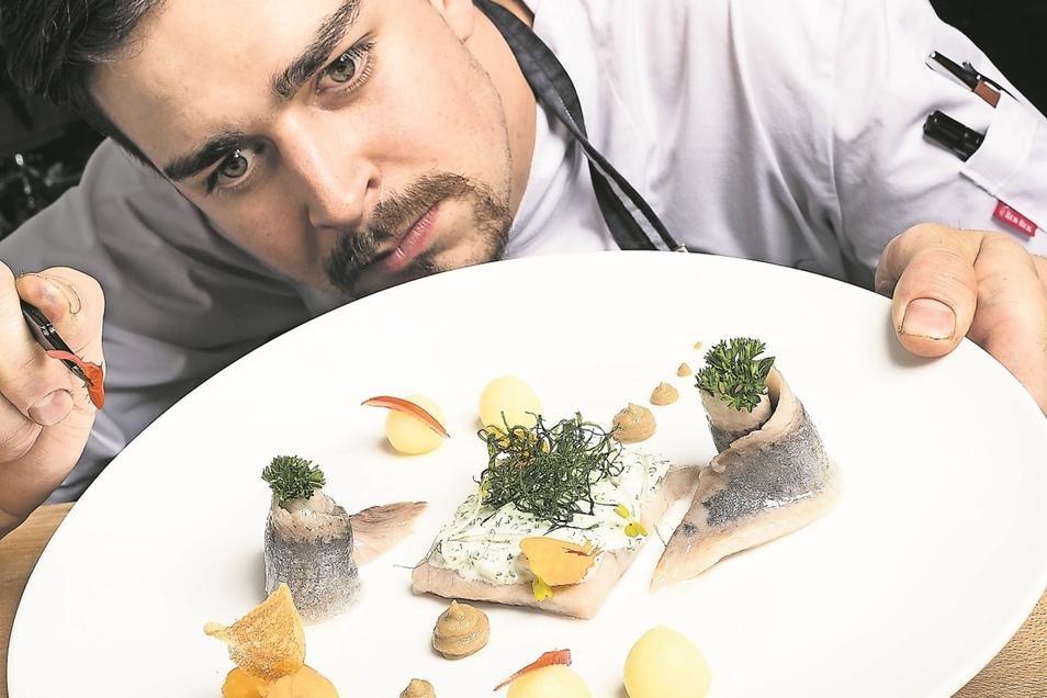 Nicht nur die Küche von Philipp Haufe im Landhotel Zum Erbgericht überzeugt.