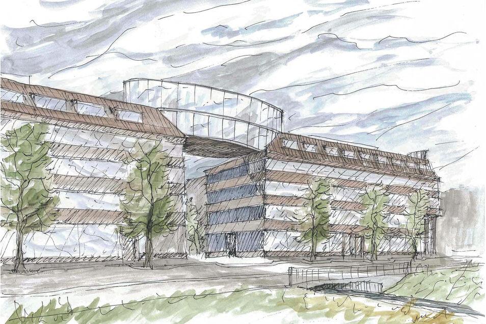So soll der nachfolge-Bau der Lederfabrik aussehen.