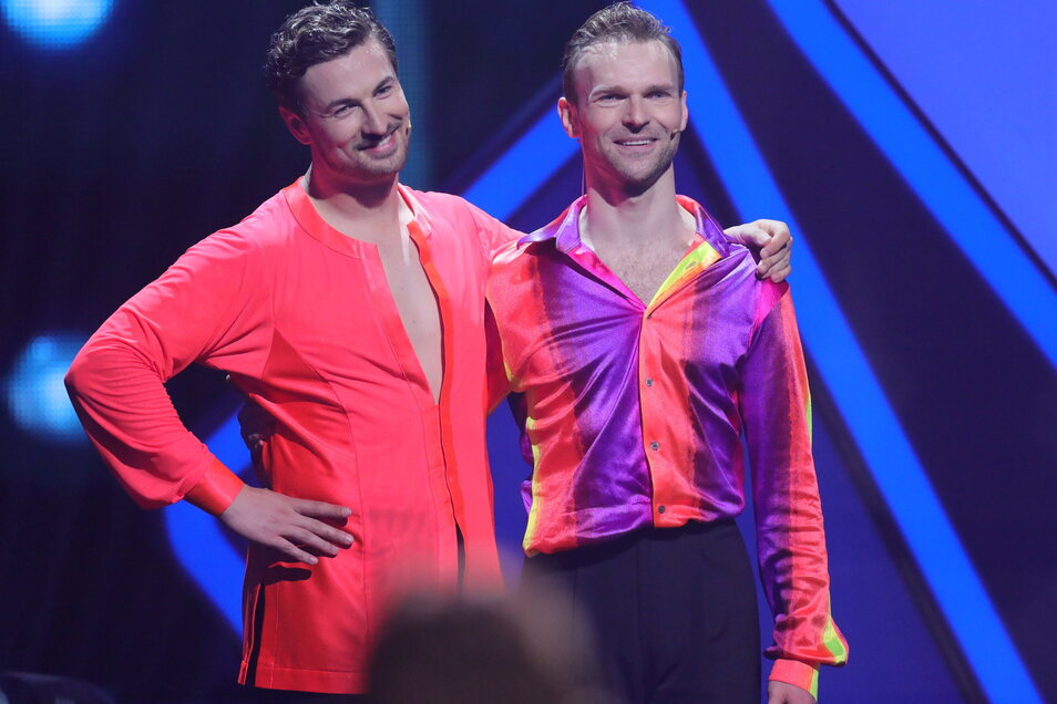 Nicolas Puschmann (l) und Vadim Garbuzov dürfen wieder an der Tanzshow bei RTL teilnehmen.