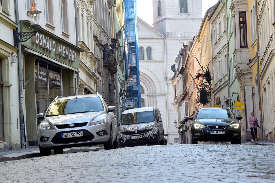 Die Stadt Zittau will, dass sich die Händler und Gastronomen in der Inneren Weberstraße besser präsentieren können.