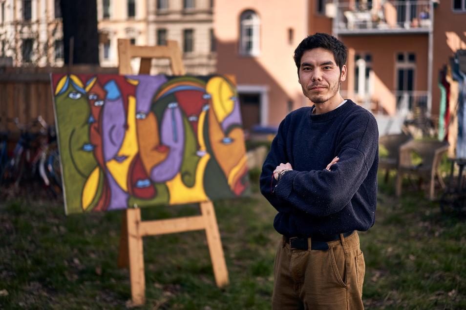 Abbas Ahmadi lebt in Görlitz. Seine Eltern leben im Iran - haben als Afghanen aber mit Ausgrenzung zu kämpfen.