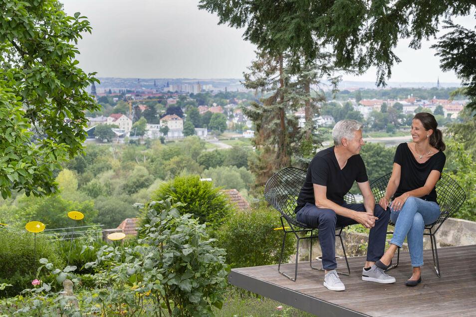 Dorit und Martin Richter sind ein Ost-Westdeutsches Ehepaar.