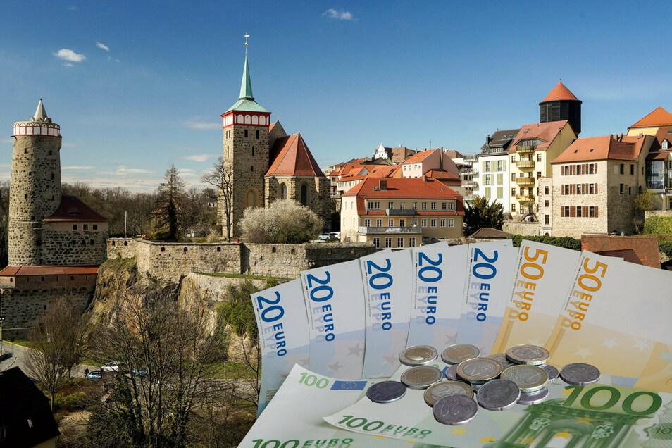 Im März will der Bautzener Stadtrat in die Haushaltslesungen starten. Im Entwurf des Etats klafft noch eine Lücke von ungefähr 2,6 Millionen Euro.