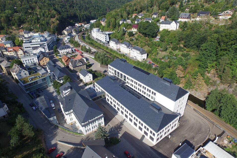 Neun Uhrenfirmen sind in Glashütte tätig. Die Lange Uhren GmbH ist der größte Hersteller. Als Lehrling durfte sich Yves Schmitz hier umschauen.