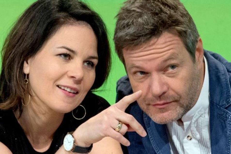 Grünen-Chefin Annalena Baerbock und Co-Parteichef Robert Habeck.
