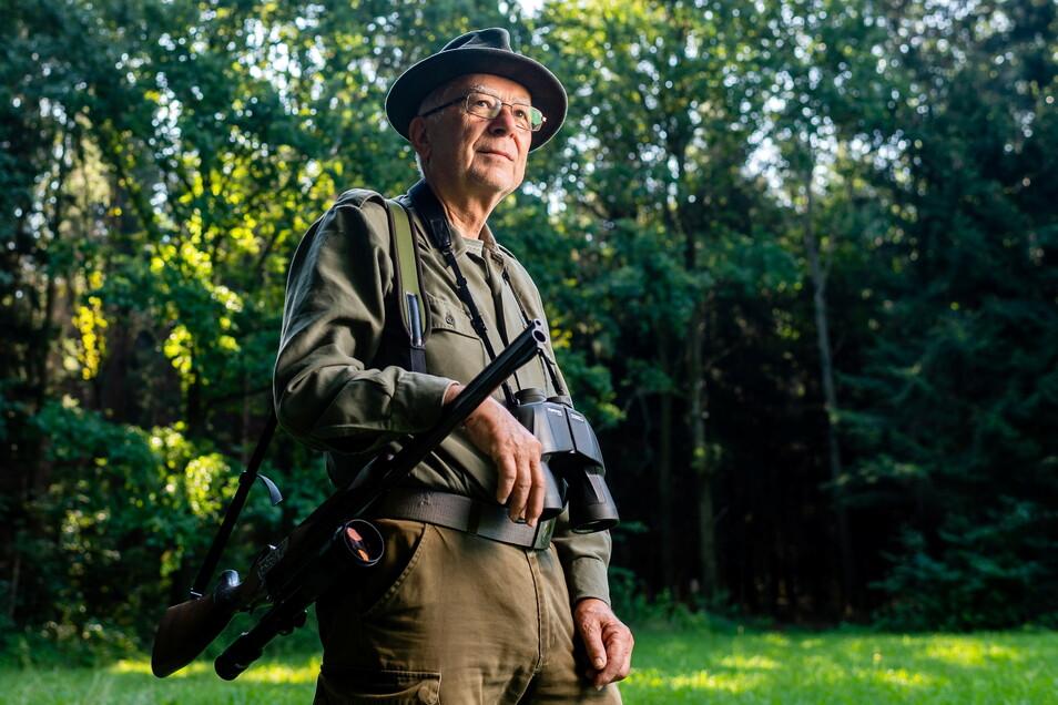 Lothar Jentschel ist der Vorsitzende des Kreisjagdverbandes Bautzen. Er fordert mehr Unterstützung von der Politik im Kampf gegen die Afrikanische Schweinepest.