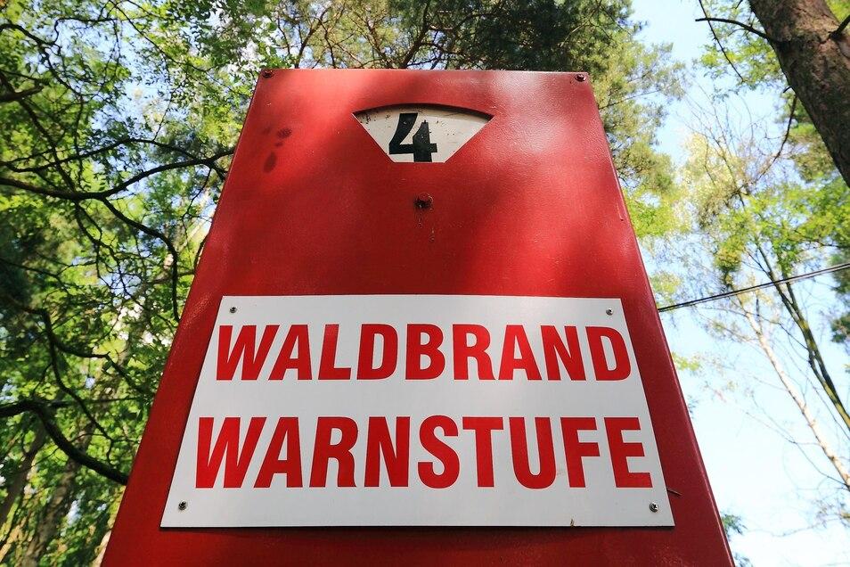 In Sachsen wird zum Wochenende mindestens die Alarmstufe 4 von 5 gelten.